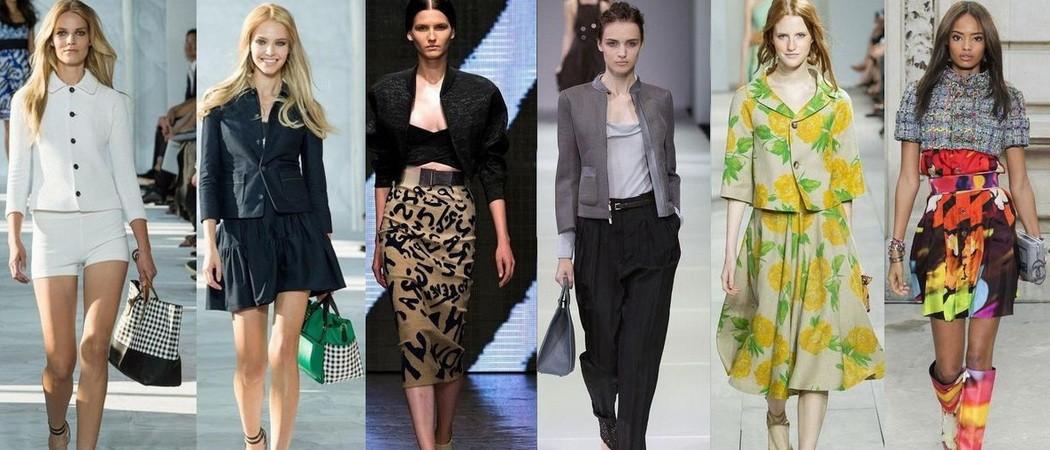 С чем и как носить женские жакеты